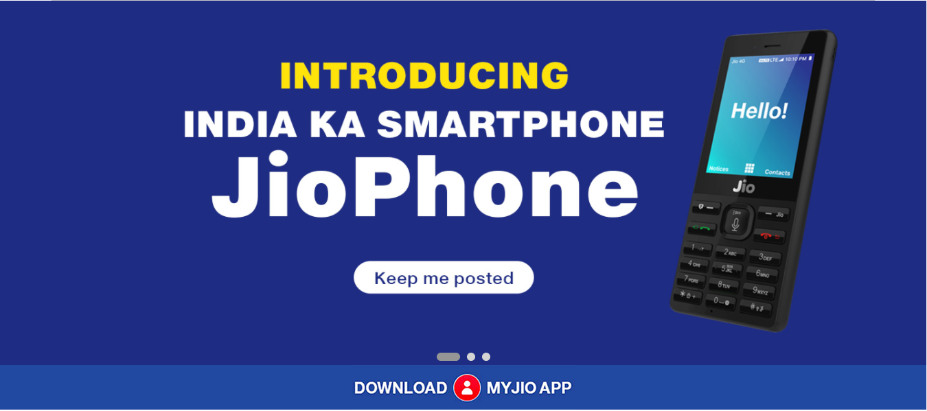 Register for Jio Phone